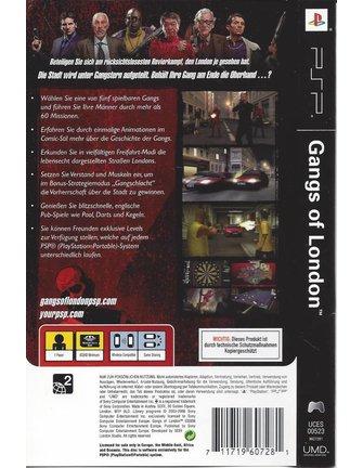 GANGS OF LONDON voor PSP