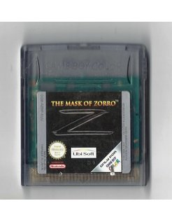 THE MASK OF ZORRO voor Nintendo Game Boy Color GBC