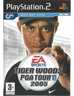 TIGER WOODS PGA TOUR 2005 voor Playstation 2 PS2