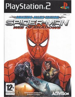 SPIDER-MAN WEB OF SHADOWS AMAZING ALLIES EDITION voor Playstation 2 PS2