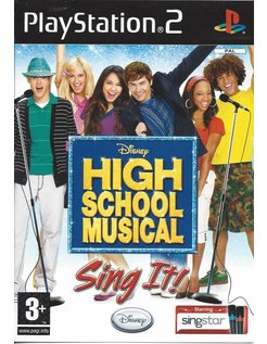 HIGH SCHOOL MUSICAL SING IT voor Playstation 2 PS2