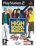 HIGH SCHOOL MUSICAL SING IT voor Playstation 2 PS2