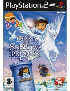 DORA REDT DE SNEEUWPRINSES voor Playstation 2 PS2