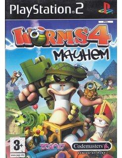 WORMS 4 MAYHEM voor Playstation 2