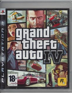 GRAND THEFT AUTO IV GTA (4) für Playstation 3 PS3