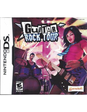 GUITAR ROCK TOUR voor Nintendo DS