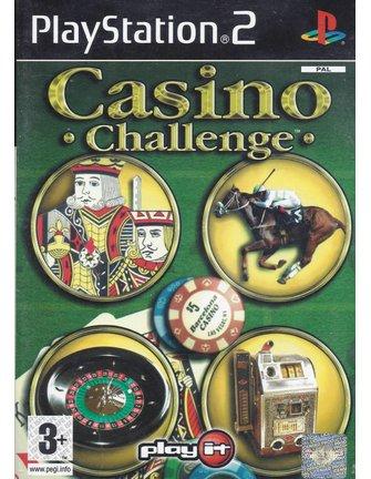 CASINO CHALLENGE voor Playstation 2 PS2