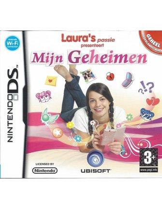 LAURA'S PASSIE PRESENTEERT MIJN GEHEIMEN voor Nintendo DS