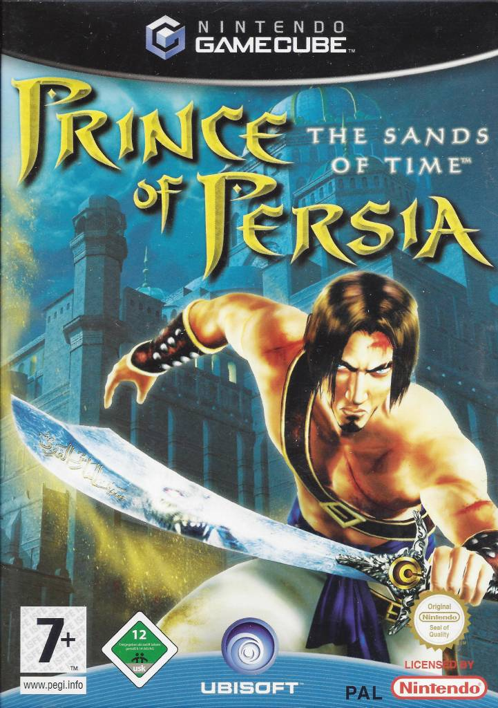 Prince of Persia: The Sands of Time gamecube box