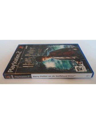 HARRY POTTER EN DE HALFBLOED PRINS voor Playstation 2 PS2 - met doos en handleiding