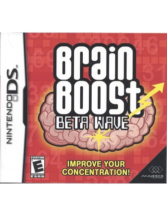 BRAIN BOOST BETA WAVE voor Nintendo DS