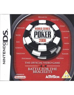 WORLD SERIES OF POKER 2008 voor Nintendo DS
