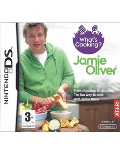 WHAT'S COOKING JAMIE OLIVER voor Nintendo DS