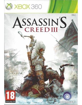 ASSASSIN'S CREED III (3) voor Xbox 360