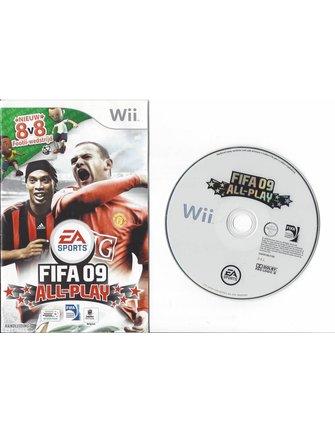 FIFA 09 ALL PLAY voor Nintendo Wii