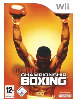 SHOWTIME CHAMPIONSHIP BOXING voor Nintendo Wii