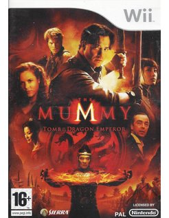 MUMMY TOMB OF THE DRAGON EMPEROR voor Nintendo Wii