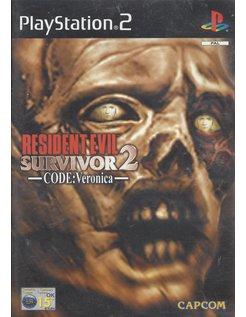RESIDENT EVIL SURVIVOR 2 for Playstation 2