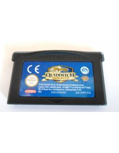 HARRY POTTER QUIDDITCH WORLD CUP voor Game Boy Advance