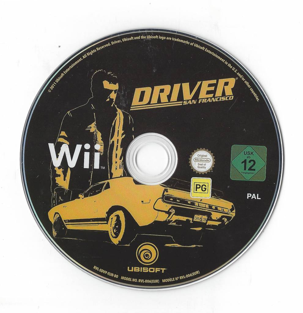Driver San Francisco for Nintendo Wii - Passion for Games
