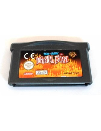 TOM AND JERRY IN INFURNAL ESCAPE for Game Boy Advance GBA