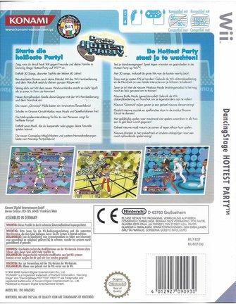 DANCING STAGE HOTTEST PARTY voor Nintendo Wii
