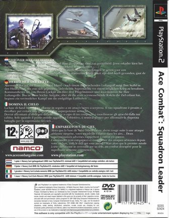 ACE COMBAT SQUADRON LEADER voor Playstation 2 PS2