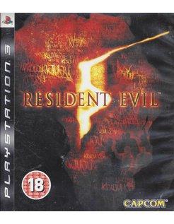 RESIDENT EVIL 5 voor Playstation 3
