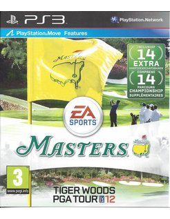 TIGER WOODS PGA TOUR 12 THE MASTERS for Playstation 3 PS3