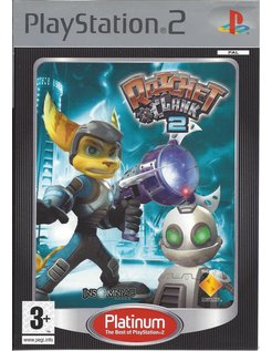 RATCHET AND CLANK 2 voor Playstation 2 PS2 - Platinum