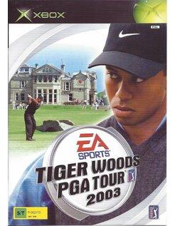 TIGER WOODS PGA TOUR 2003 voor Xbox