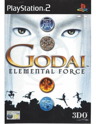 GODAI ELEMENTAL FORCE voor Playstation 2 PS2