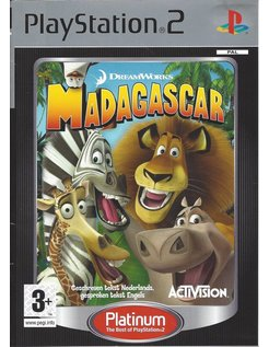 MADAGASCAR PLATINUM voor Playstation 2 PS2