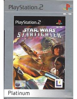 STAR WARS STARFIGHTER PLATINUM voor Playstation 2 PS2