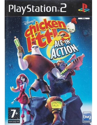 CHICKEN LITTLE - ACE IN ACTION voor Playstation 2 PS2 - Engels