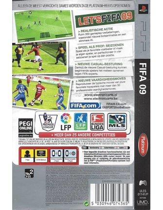 FIFA 09 PLATINUM voor PSP