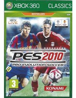 PRO EVOLUTION SOCCER PES 2010 for Xbox 360