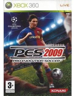 PRO EVOLUTION SOCCER PES 2009 voor Xbox 360