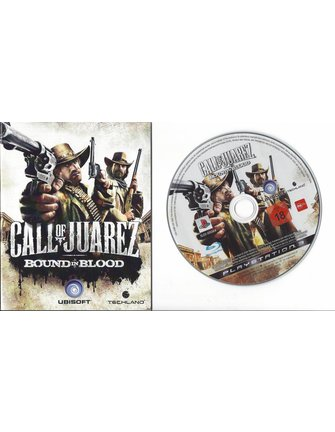CALL OF JUAREZ BOUND IN BLOOD voor Playstation 3 PS3