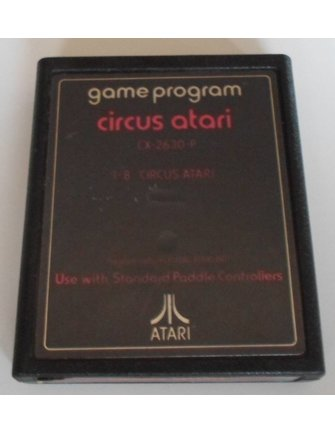 CIRCUS ATARI für Atari 2600 (Black Label)