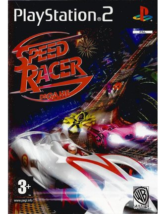 SPEED RACER DE GAME for Playstation 2 PS2