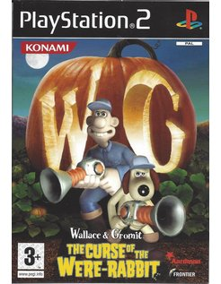 WALLACE AND GROMIT THE CURSE OF THE WERE RABBIT voor Playstation 2 PS2