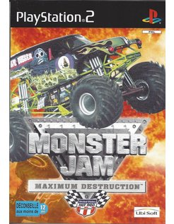 MONSTER JAM MAXIMUM DESTRUCTION voor Playstation 2 PS2