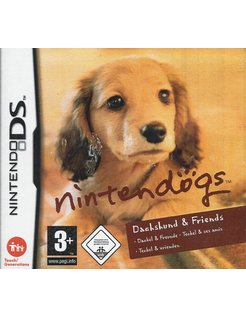 NINTENDOGS DACHSHUND & FRIENDS for Nintendo DS