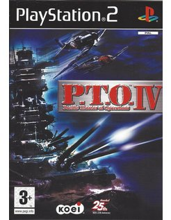 PACIFIC THEATER OF OPERATIONS P.T.O. IV voor Playstation 2 PS2