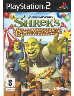 SHREK'S CRAZY PARTY GAMES (CARNIVAL CRAZE) voor Playstation 2 PS2