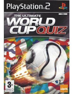 THE ULTIMATE WORLD CUP QUIZ voor Playstation 2 PS2