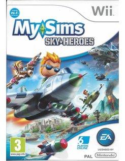 MY SIMS SKY HEROES voor Nintendo Wii
