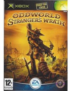 ODDWORLD STRANGER'S WRATH voor Xbox - handleiding in NL