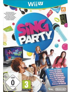 SING PARTY for Nintendo Wii U